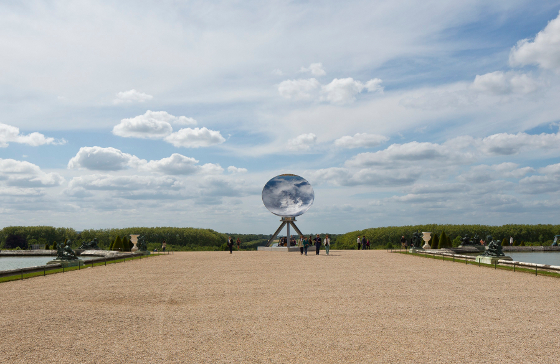 """Sky Mirror, 2013 Courtesy Kapoor Studio, Kamel Mennour and Lisson Gallery, photo: © Tadzio"