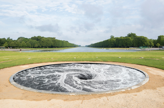 """Descension"", 2014, Courtesy Kapoor Studio and Kamel Mennour, photo: © Fabrice Seixas"