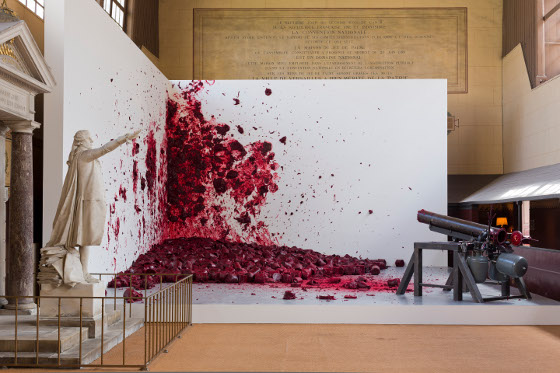 """Shooting into the Corner"", 2008-2009 Courtesy Kapoor Studio, photo: © Tadzio"