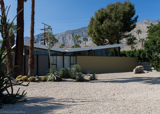 Twin Palms Estates, Palm Springs, Kalifornia, 1957-1958, Alexander Construction Company. Architect: William Krisel.